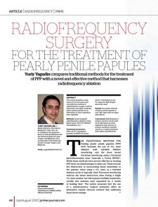 Dr. Yuriy Yagudin article new method of treatment of PPP